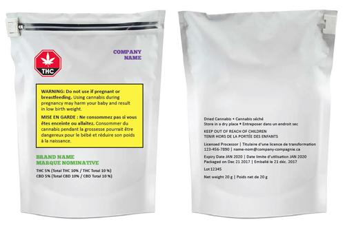 Sample Packaging Copy